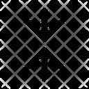 Decrease arrows Icon