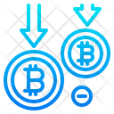 Bitcoin Currency Coin Icon