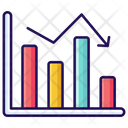 Decrease Chart Stock Market Business Loss Icon