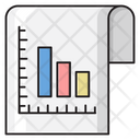 Report Graph Sheet Icon