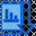 Smartphone Mobile Graph Icon
