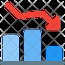 Decrease Chart Decrease Bar Chart Icon
