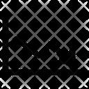 Decrease Diagram Icon