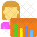 Decrease graph Icon
