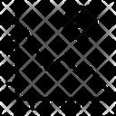 Decrease Graph Decrease Graph Icon