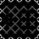 Decrease indent Icon