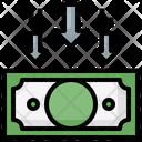 Decrease Money Icon