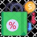 Decrease Price Icon