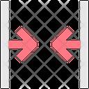 Decrease Size Resize Arrow Icon