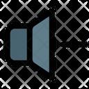 Decrease Volume Volume Down Slow Volume Icon
