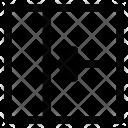 Arrow Decreasing Width Icon