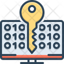 Decrypting Cybersecurity Technology Icon