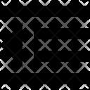 Dedent Align Style Icon
