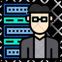 Dedicated Hosting Internet Digital Icon