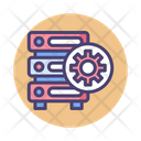 Dedicated Server Server Database Icon
