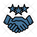 Dedication Partnership Business Deal Icon