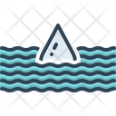 Deep Submerge Water Wave Icon