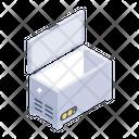 Refrigerator Deep Freezer Fridge Freezer Icon