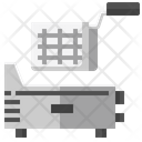 Deep Fryer Electric Fryer Cooking Icon