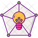 Deep Learning Creative Connection Learning Icon