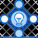 Deep Learning Creative Idea Bright Idea Icon