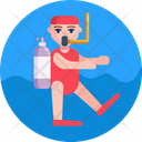 Deep Sea Diving Diving Scuba Diving Icon