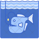 Deep Sea Fishing Icon