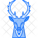 Deer Santa Bell Icon