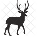Forest Deer Animal Icon