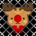 Deer Reindeer Rudolf Icon