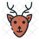 Deer Buck Fauna Icon