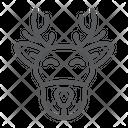 Christmas Deer Moose Icon