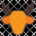 Deer Xmas Winter Icon