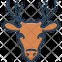 Deer Animal Zoo Icon