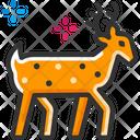 Deer Reindeer Animal Icon