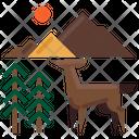 Deer Animal Nature Icon