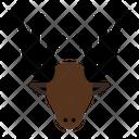Deer Animal Antlers Icon
