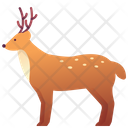 Zoo Animal Deer Icon