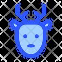 Deer Xmas Christmas Icon