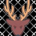 Deer Animal Reindeer Icon