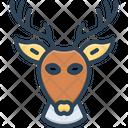 Deer Head Antelope Icon