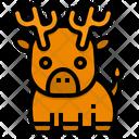 Deer Moose Wild Icon