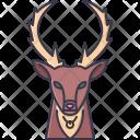 Deer Christmas New Icon