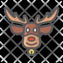 Deer Elk Reindeer Icon