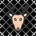 Deer Wild Animal Icon