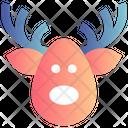 Deer Face Deer Alaska Icon