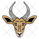 Deer Face Reindeer Face Deer Mascot Icon