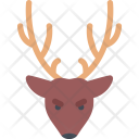 Deer New Year Icon