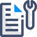 Defects File Setting File Repair Icon
