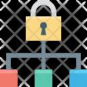 Defence Hierarchy Lock Icon